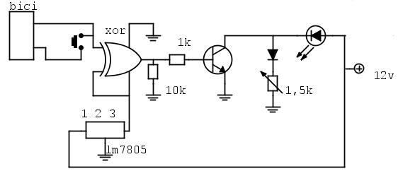 Schema Elettrico Per Porta Automatica Pollaio : Faretto a led e luci di stop per bicicletta elettrica