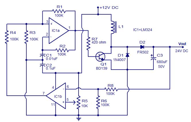 Schema Elettrico Riduttore Di Tensione Da 24v A 12v : Come realizzare un convertitore dc v