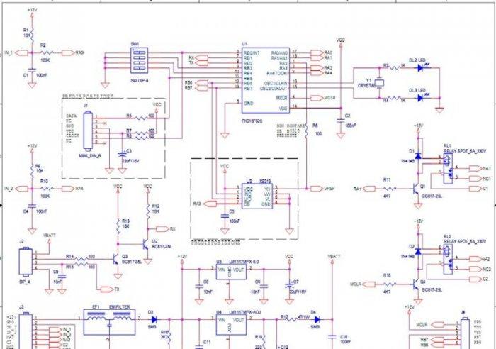 Schema elettrico connettore ipad