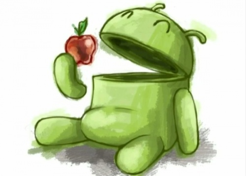 google android vs apple apps