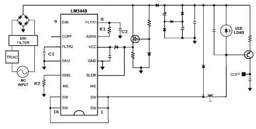 Schema Elettrico Per Dimmer : Driver dimmerabili per led elettronica open source
