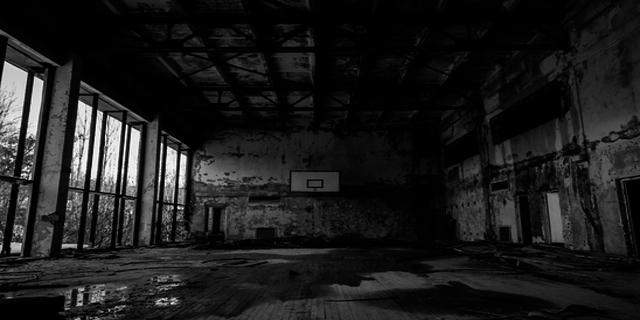 Edificio abbandonato nei pressi di Chernobyl