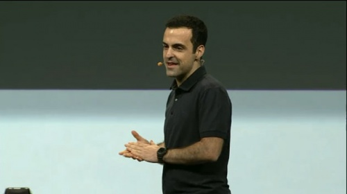 Hugo Barra al Google I/O 2011