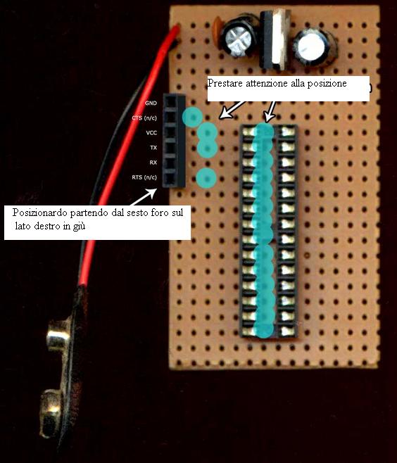 Veroboarduino costruire una board compatibile con arduino for Costruire casa a basso costo