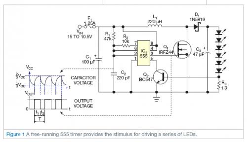 Schemi Elettrici Open Source : Driver per led di potenza con ne elettronica open source