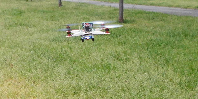 Anatomia di un drone Il Quadricottero