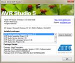 AVR Studio 5 sistema di sviluppo ATMEL