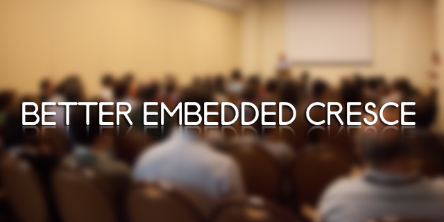 Better Embedded 2013 a Firenze
