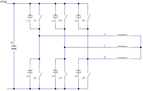 Schema Collegamento Inverter Motore Trifase : Generatore eolico con motore asincrono ed inverter