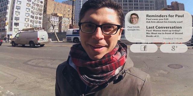 Occhiali Google-Glass