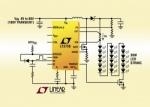 LT3756 LT3756-1 LT3756-2 controller LED a 100VIN, 100VOUT
