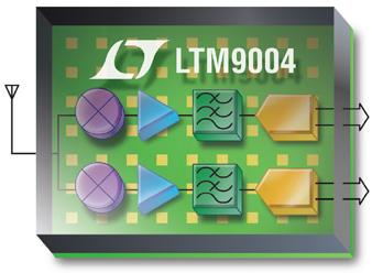 LTM9004: ricevitore per la conversione diretta a 14bit