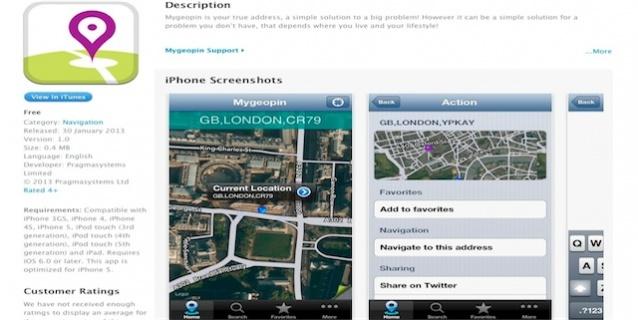 Mygeopin free App