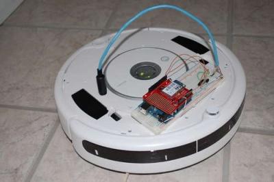 web controller per twitter con roomba