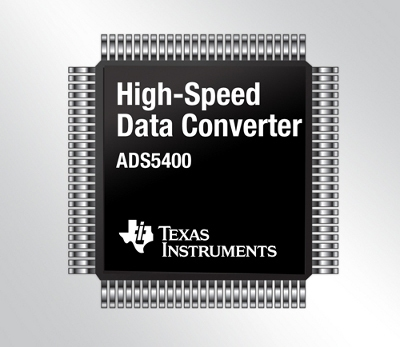 ADS5400, convertitore analogico-digitale a 12bit, 1-GSPS
