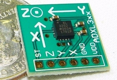 Come interfacciare un accelerometro con un microcontrollore PIC