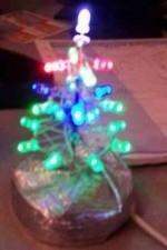 Albero di  Natale a LED alimentato da usb