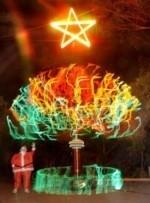 albero natale tesla