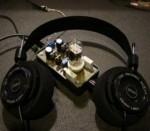 Amplificatore a valvole per le cuffie