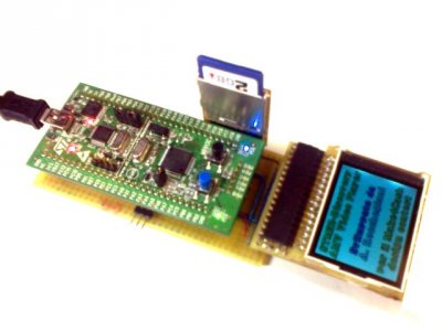 Foto progetto video Player STM32