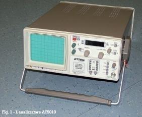 ATTEN AT5010 spectrum analyzer. Un analizzatore di spettro per tutti