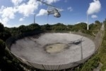 Nuova antenna installata sul più grande radiotelescopio del mondo