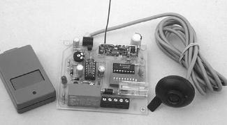 Antifurto auto con sensore volumetrico