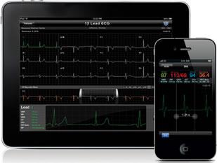 AirStrip Cardiology è un'applicazione medica per iPad e altri dispositivi mobili che invia i dati vitali del paziente al medico in ospedale