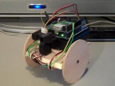 Arduino wi fi robot