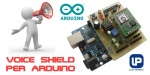 Voice shield per Arduino