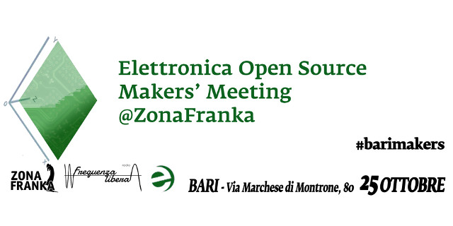 banner 25 ottobre makers' meeting barimakers
