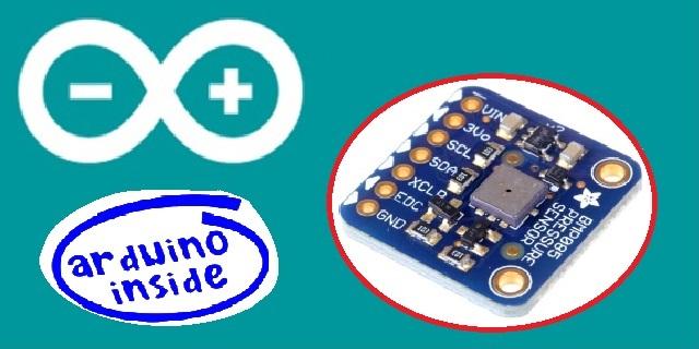 Pressione e Temperatura: BMP085 e Arduino
