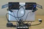 Bonfire: un sistema nomade per l'interazione ibrida tra il portatile e la scrivania