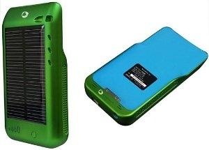caricabatterie solari per iPod e iPhone