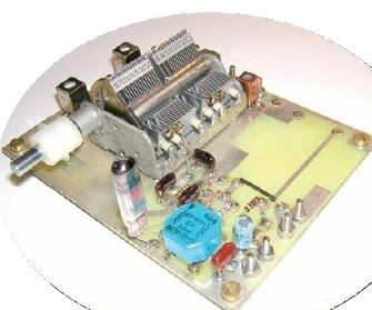 circuito REFLEX . Ricevitore per onde medie con triodo