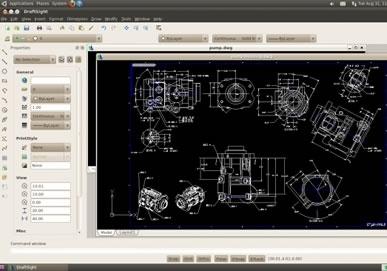 Draftsight per Linux permetterà di leggere e modificare file in formato .dwg di AutoCAD
