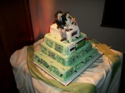 Embedded cake