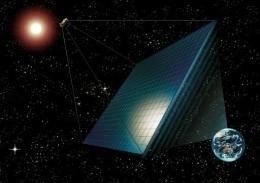energia solare spazio