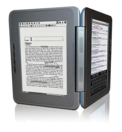 e-reader dual-screen enTourage