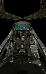 F35, cabina di pilotaggio con sistemi di tecnologia COTS