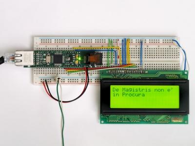 FTPmicro Tutorial - Esempio: Notizie ANSA su LCD