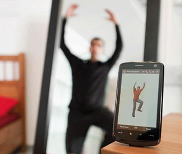 Fitness Assistant controlla i movimenti di ogni esercizio attraverso una speciale maglietta