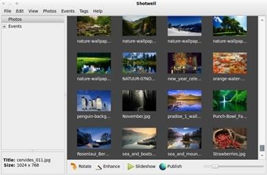 Il gestore di immagini e foto Shotwell sostituirà F-Spot come programma di default su Ubuntu 10.10