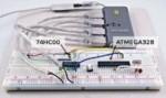 Hub USB usato per ISP (In System Programming)