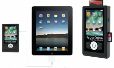 Hard disk HyperDrive per iPad