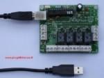 Scheda I/O USB