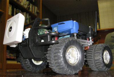 Macchina robotizzata radiocomandata con Wi-Fi
