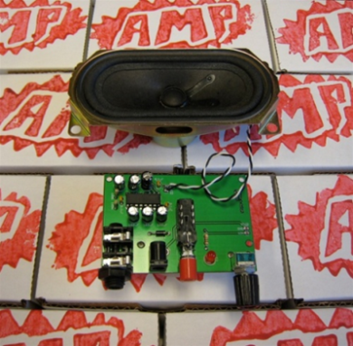 Box Kit Amplificatore