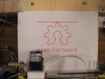 La stampante inkjet fai da te all'opera