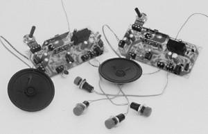 Un interfono via radio